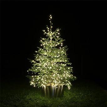 Lichterkette Weihnachtsbaum Außen.Led Lichterkette Groß Ledlk600 60 Meter 600 Leds Für Weihnachtsbaum Weihnachts Baum