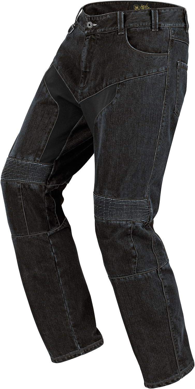 Spidi J10-026 Pantalone da Moto in Tessuto Furious Denim Jeans Nero Misura 29