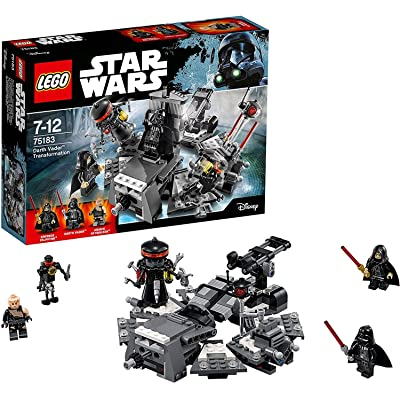 LEGO Darth Vader Transformation Construction Toy: Toys & Games