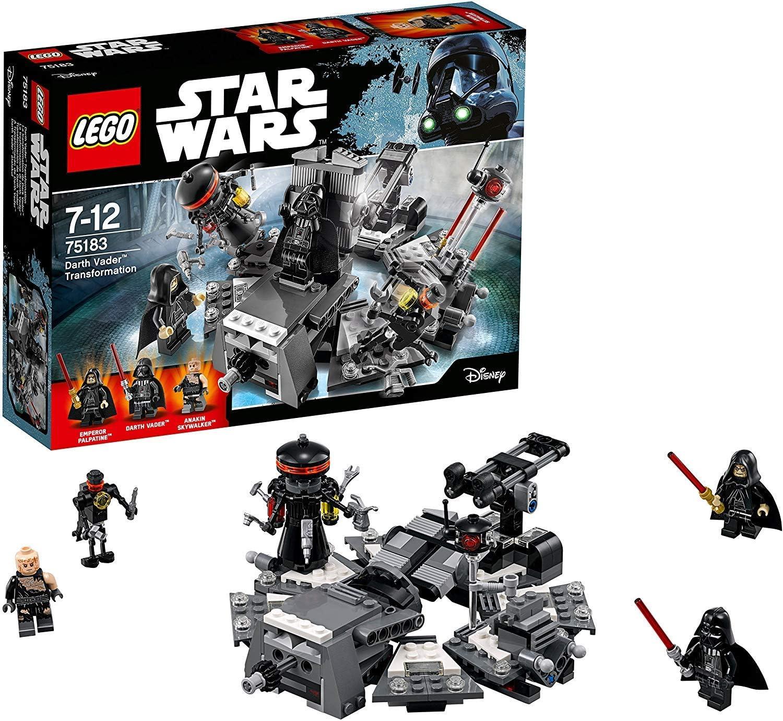 LEGO NEW BLACK STAR WARS DARTH VADER HELMET PIECE