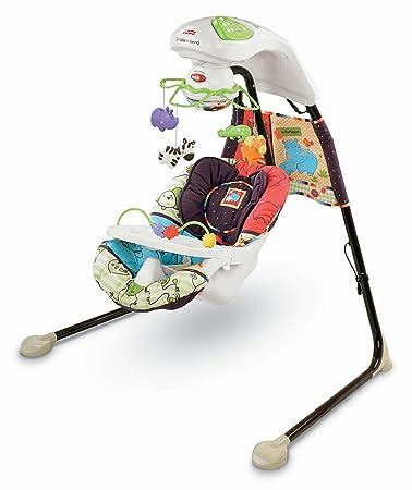 Amazon.com : Fisher-Price Cradle \'N Swing, Luv U Zoo (Discontinued ...