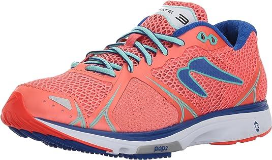 Newton Running Womens Fate III Neutral Running Shoe, Zapatillas Mujer, Rosa (Coral/Jade), 37.5 EU: Amazon.es: Zapatos y complementos