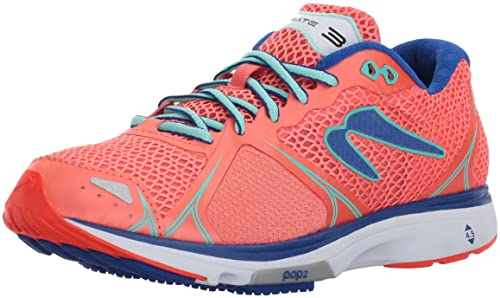 Newton Running Womens Fate III Neutral Shoe, Zapatillas de Running para Mujer, Rosa (