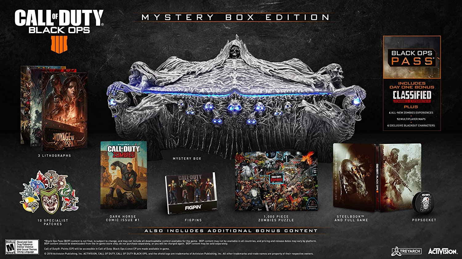 Amazon com: Call of Duty: Black Ops 4 - Xbox One Mystery Box Edition