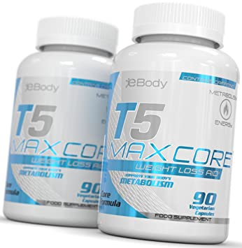 T5 Maxcore Fat Burners Appetite Suppressant Tablets T5s Slimming Diet Pills For Women Men Made In Uk Max Strength T5 Fat Burner Weight Loss
