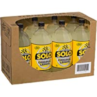Solo Lemon Soft Drink, 8 x 2L