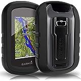 TUSITA hülle für Garmin eTrex Touch 25 35 35t - Silikon Schutzhülle Skin - Handheld GPS Navigator Zubehör