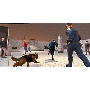 Police Dog Hunt Crime City Subway Criminal Case 3D: Policías contra ladrones Escape Survival Mission Adventure Simulator Games Gratis para niños 2018: ...