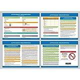 Affichage obligatoire - Code du travail - plastifié et effaçable - édition 2018