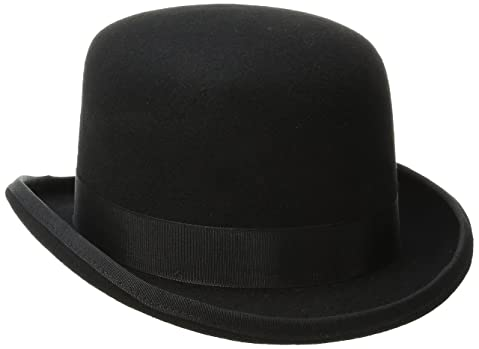 Exquisite 19th Century Black Derby Hat Black Derby Hat Fits Kids and Adults