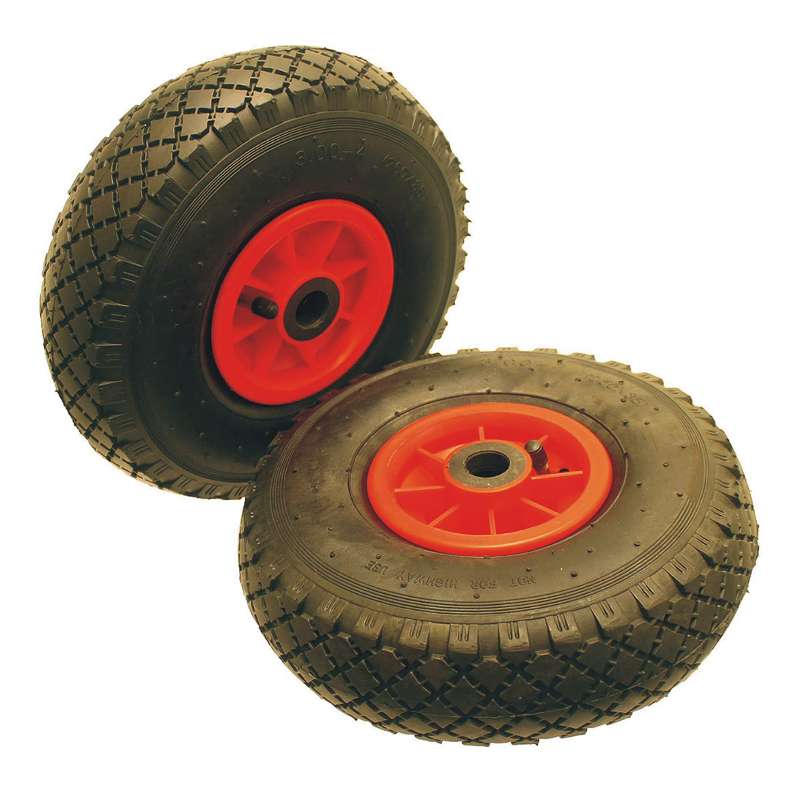 Heavy Duty 10 Pneumatic Needle Bearing Wheel Spare//Replacement Trolley Truck Wheelbarrow