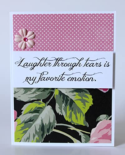 Amazoncom Steel Magnolias Handmade Greeting Card Laughter Through
