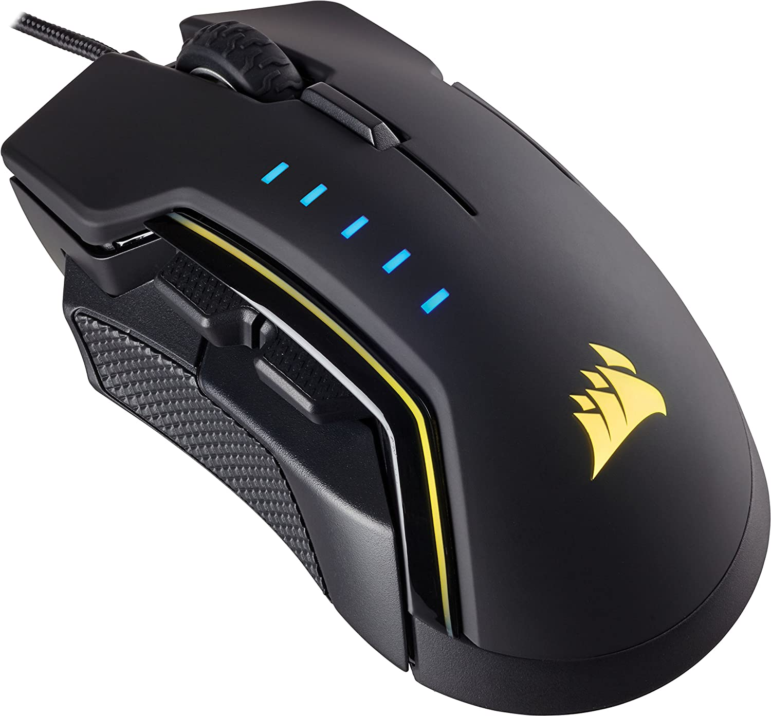 Amazon.com: Corsair CH-9302011-EU USB Optical 16000DPI Right-hand Mouse - Black,Yellow: Electronics