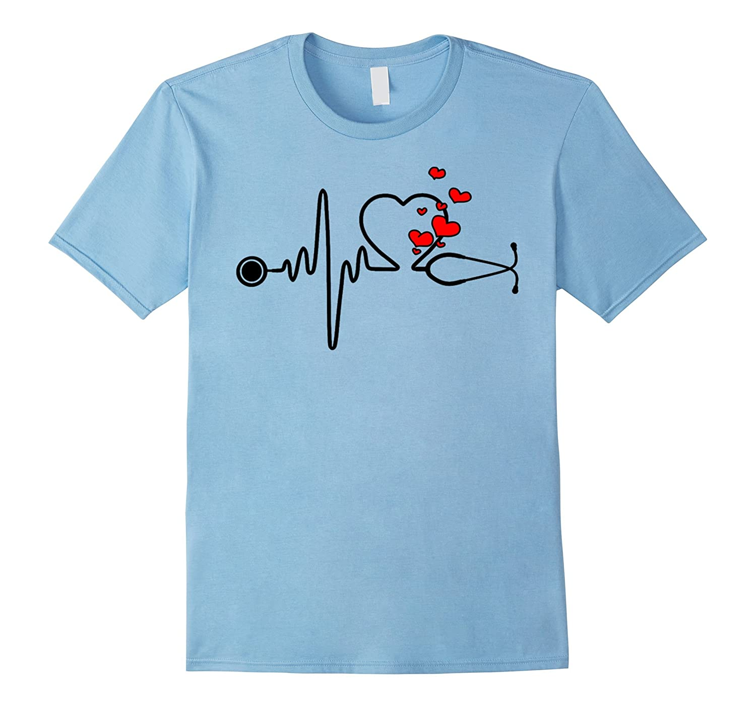 Love My Nurse, Happy Valentine's Day, Love hearts T-Shirt