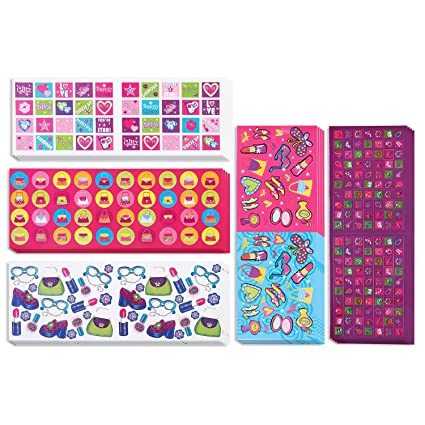 Amazon Kids Scrapbook Stickers 20 Pack Assorted Girls