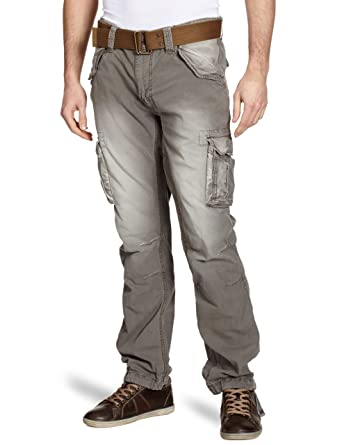 2ae40ad91d04ab Schott Nyc 70Pk - Pantalon - Cargo - Homme: Amazon.fr: Vêtements et  accessoires