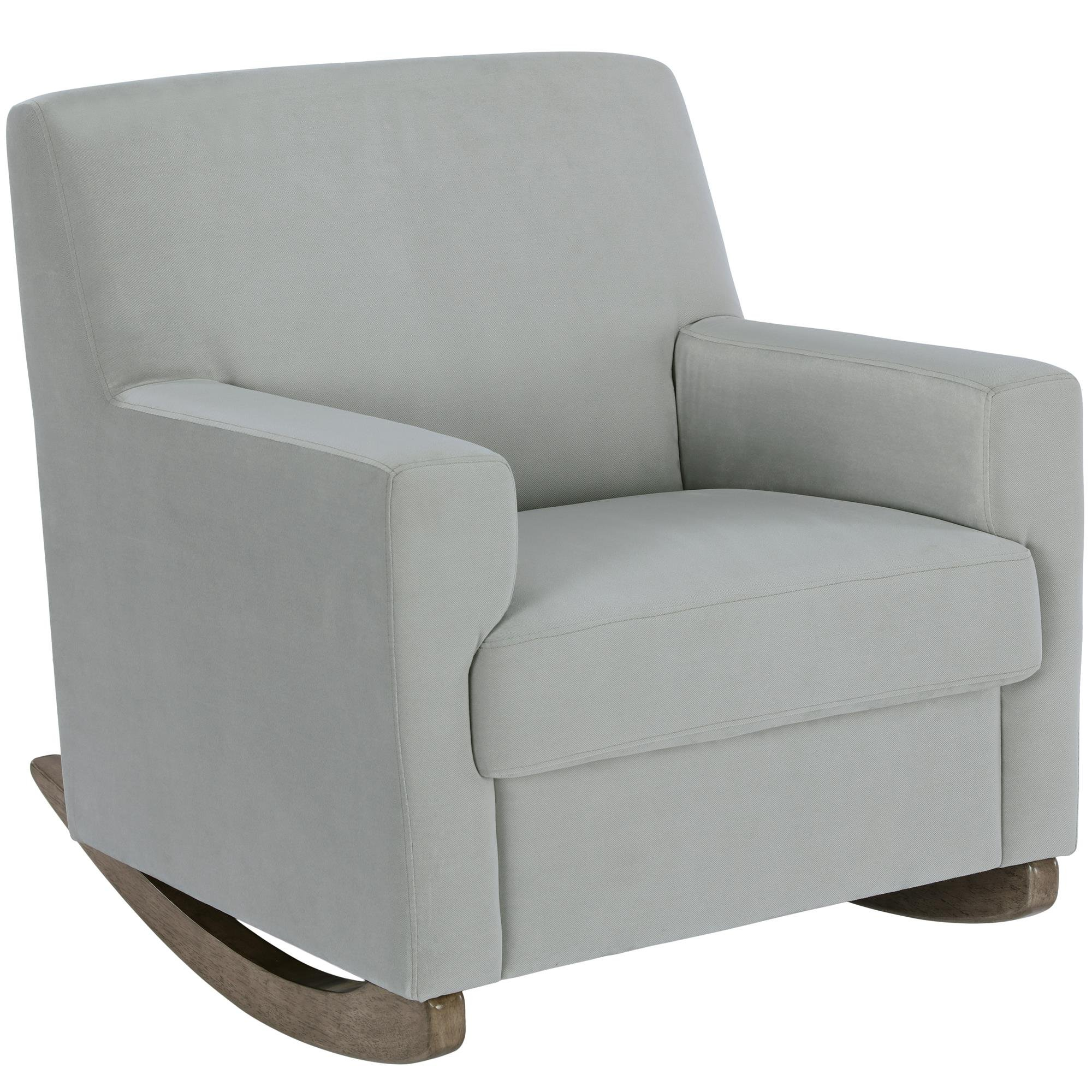Little Seeds Upholstered Rocker, Gray