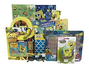 Amazon.com : Spongebob Christmas Gift Baskets for kids Full of ...