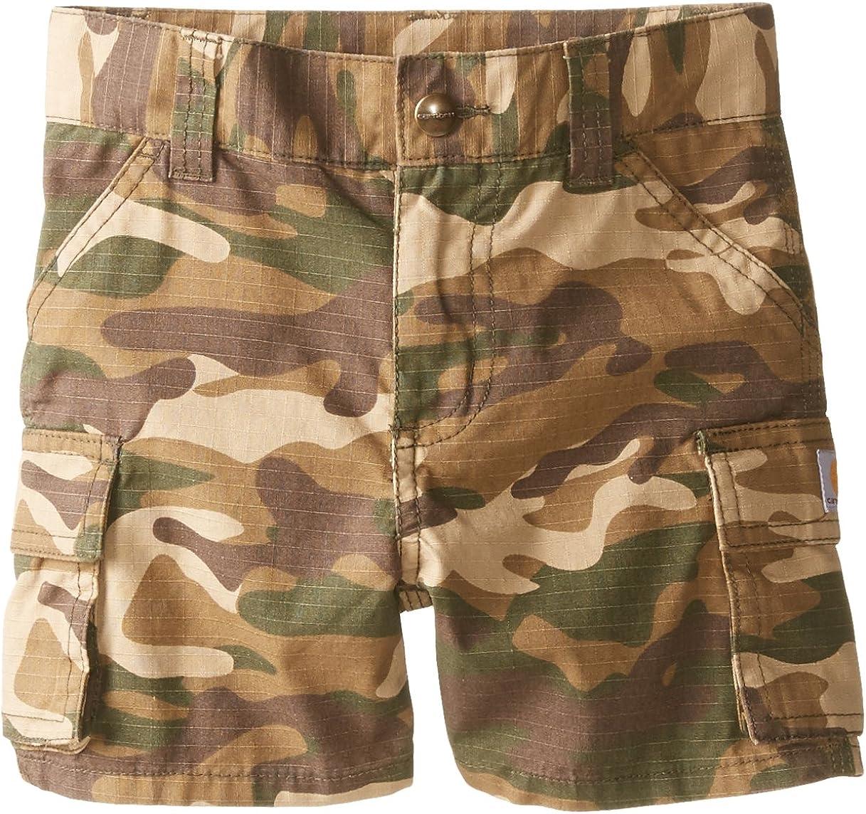 Carhartt Little Boys Brown Camo Cargo Short