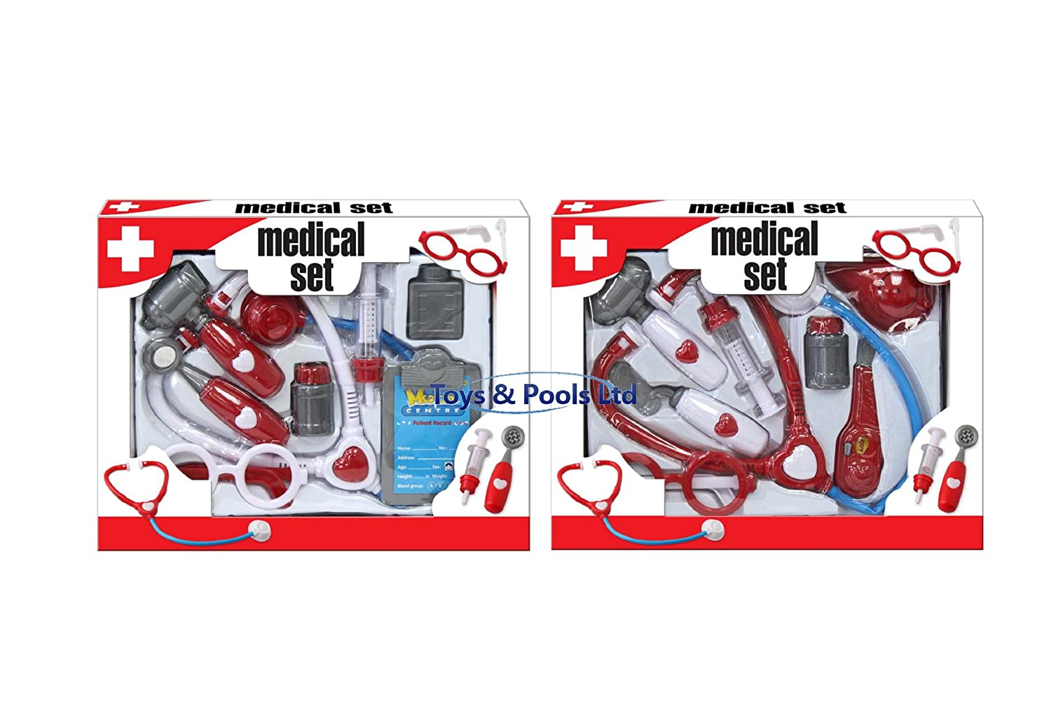 Childs Toy Doctors Medical Set Great Role Play Fun KandyToys