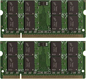8GB (2X4GB) Memory PC2-6400 800Mhz DDR2 SODIMM RAM for Dell Latitude E6400