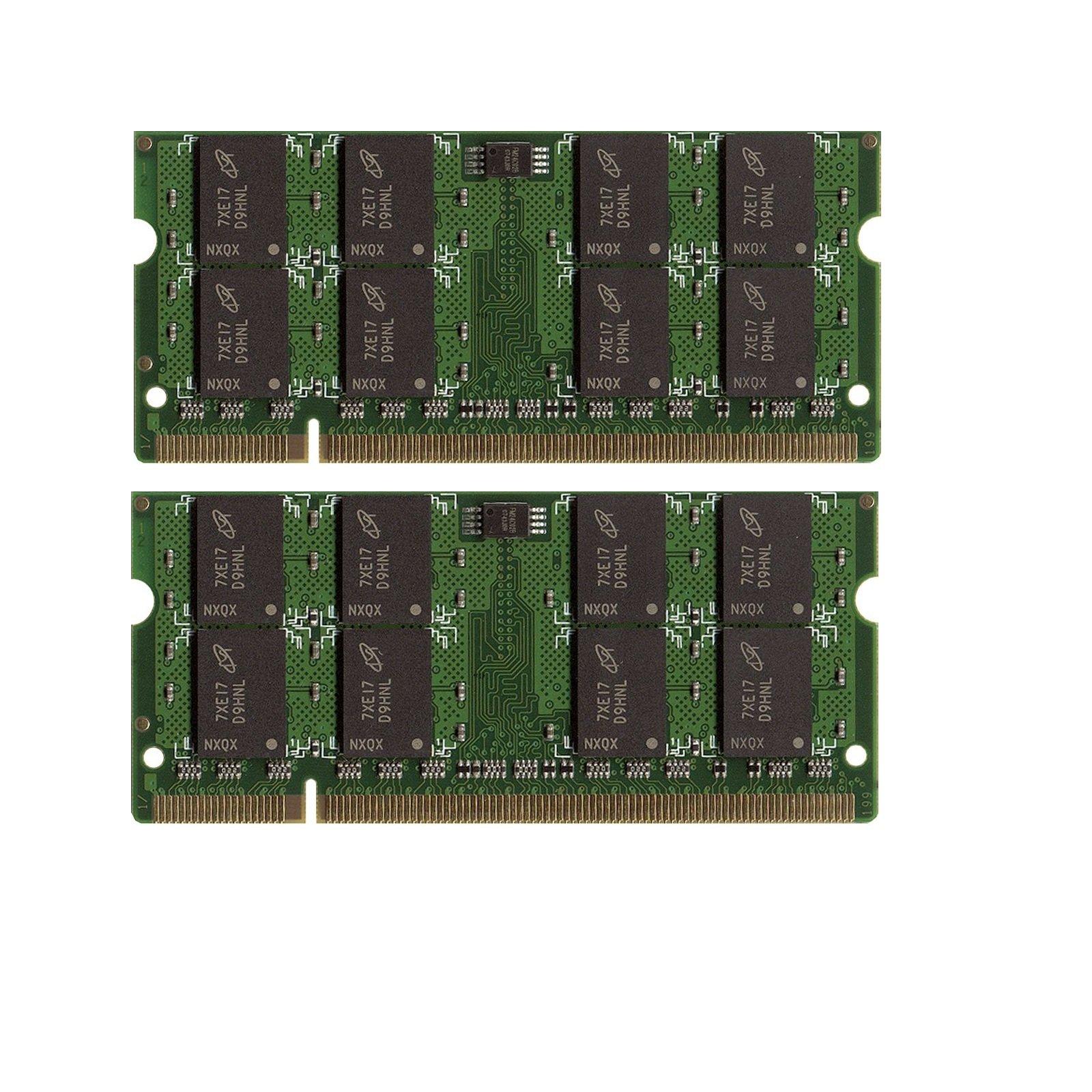New! 4GB (2X2GB) DDR2-800 SODIMM   Memoria PC2-6400
