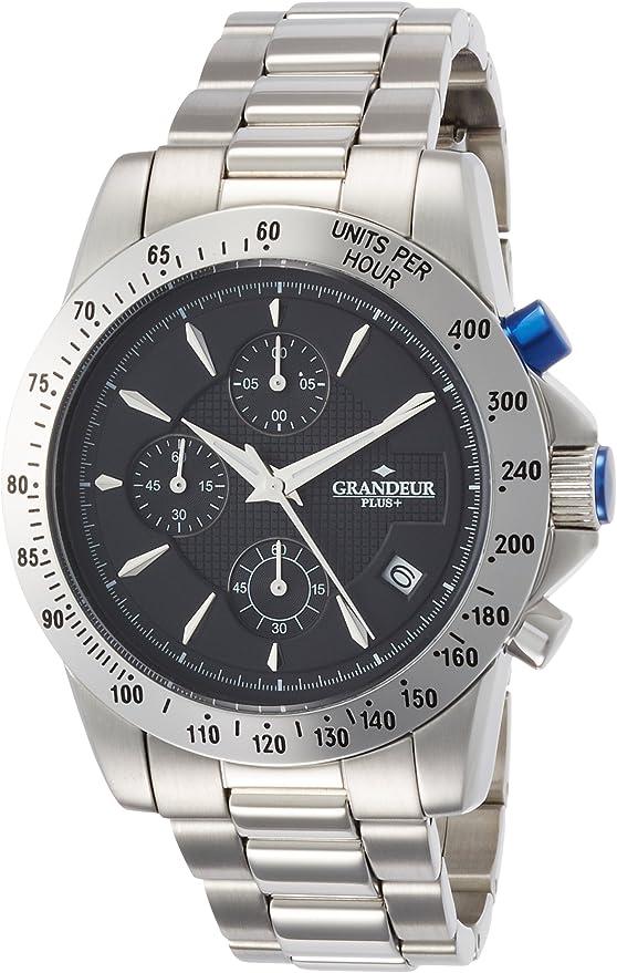 [グランドール プラス] 腕時計 GRP003W3 シルバー