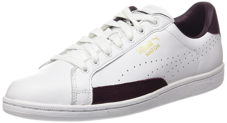 Puma Unisex-Erwachsene Match 74 UPC Sneaker  40 EU|Wei? (Puma White-winetasting 12)