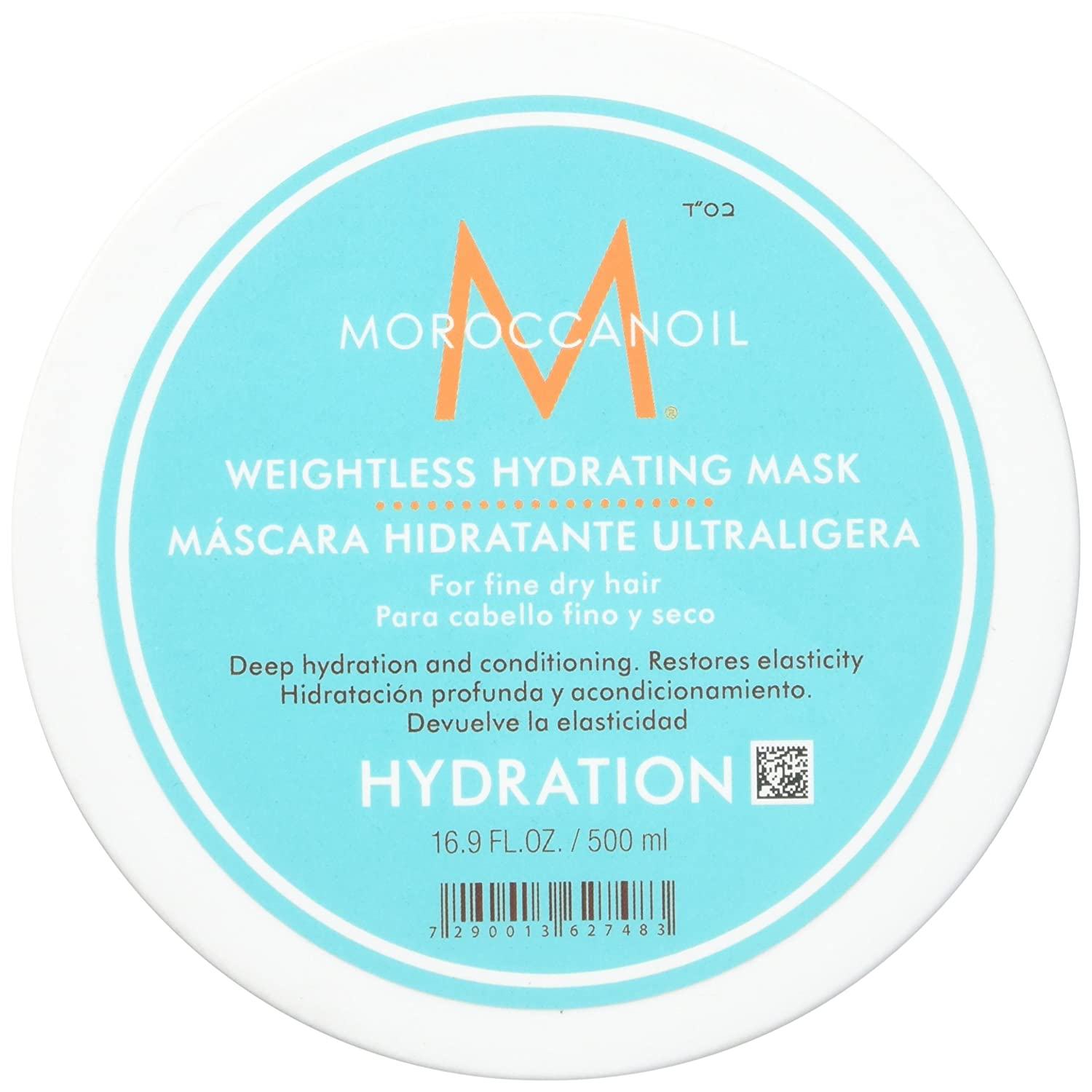 Moroccanoil Weightless Hydrating Mask 2.53oz/75ml Moroccan Oil 7290014344440