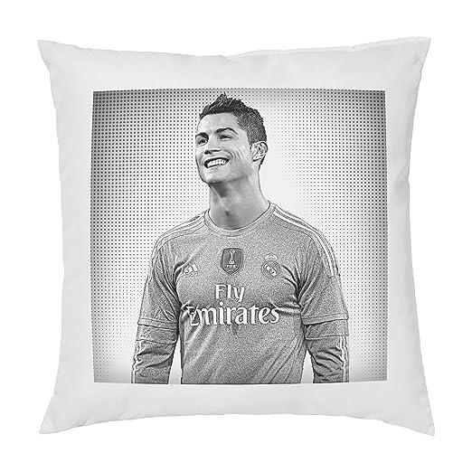 Cristiano Ronaldo cojín almohada - Pop Art - 100% algodón ...