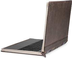 Twelve South BookBook V2 for MacBook   Vintage leather book case/sleeve with interior pocket for 12