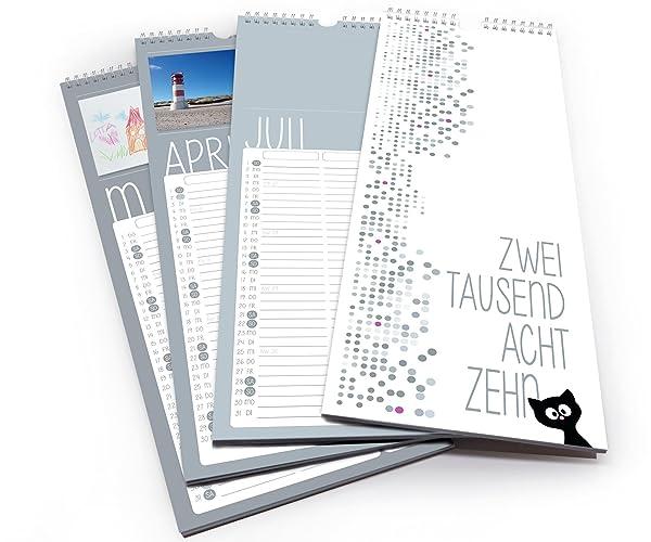 kalender 2018 selbst gestalten / fotokalender bastelkalender ...