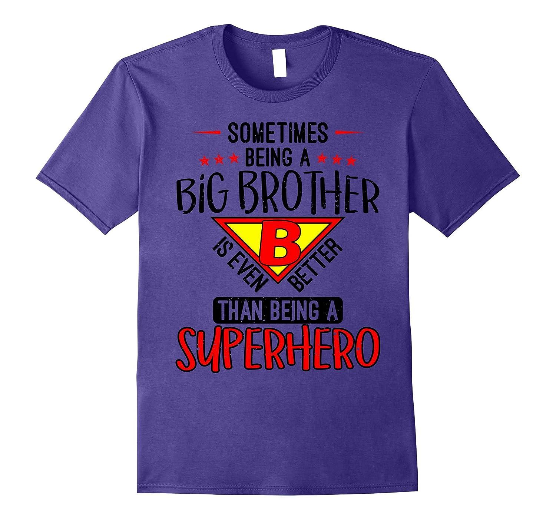 Big Brother Superhero T-Shirt For Awesome Big Brothers-Art