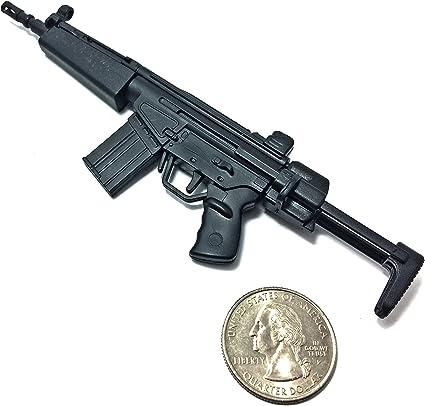 "1//6 1:6 Scale 12/"" Action Figure 4D Gun Model Asault Rifle HK53 Dragon Hot Toys"