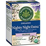 Traditional Medicinals Nighty Night Extra Sleep Aid, 16 Count Teabags