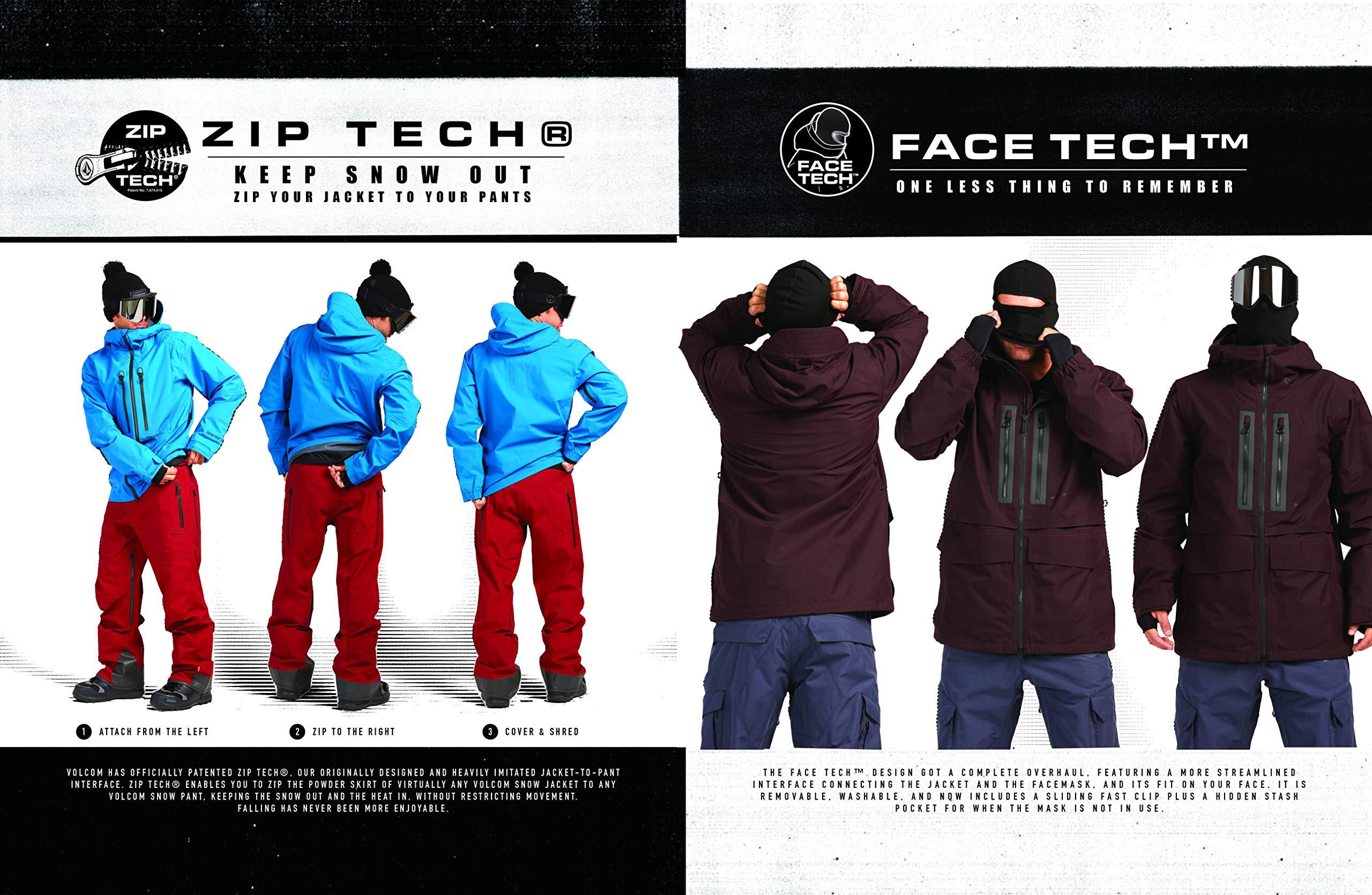 Volcom Mens Thermal Defense System Infared Gore-tex Snow Jacket