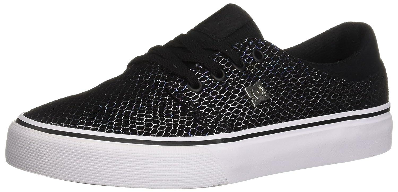 DC Women's Trase SE Skateboarding Shoe B07852F6QS 5.5 M US|Black/Silver/Black