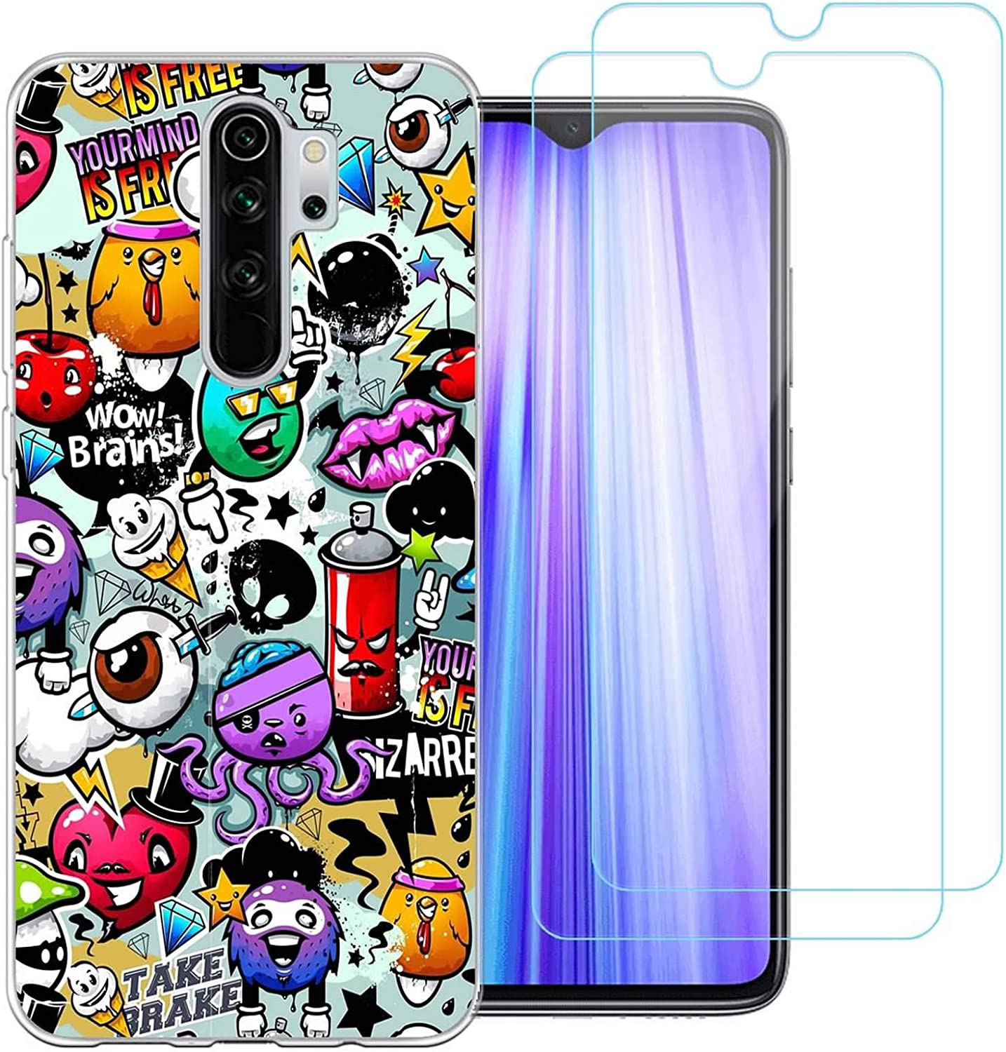 jrester Funda para Xiaomi Redmi Note 8 Pro, Animal 438 ...