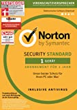 Symantec Norton Security Standard | 1 Gerät | PC/Mac | Download
