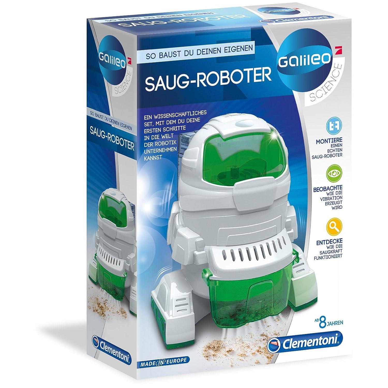 #0618 Galileo Saug Roboter zum selber bauen und entdecken • Saugroboter Spielzeug Technik Experimentier Set Kinder H-Collection