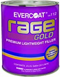 Evercoat 112 Rage 3 Liter Gold Premium Lightweight Body Filler