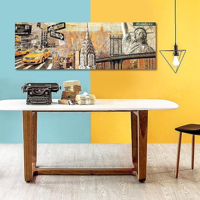 Amazon.com: ArtKisser New York City Wall Art on Canvas Sunkissed ...