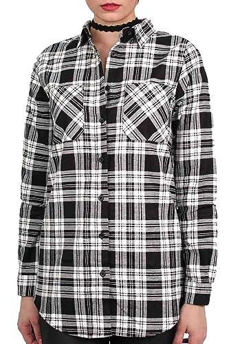 PILOT® comprobar franela camisa de manga larga