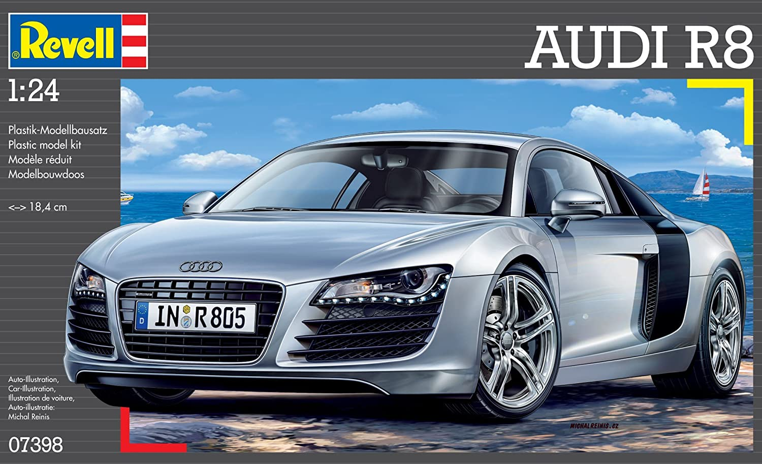 Revell Germany Audi R8 Sports Car Model Kit