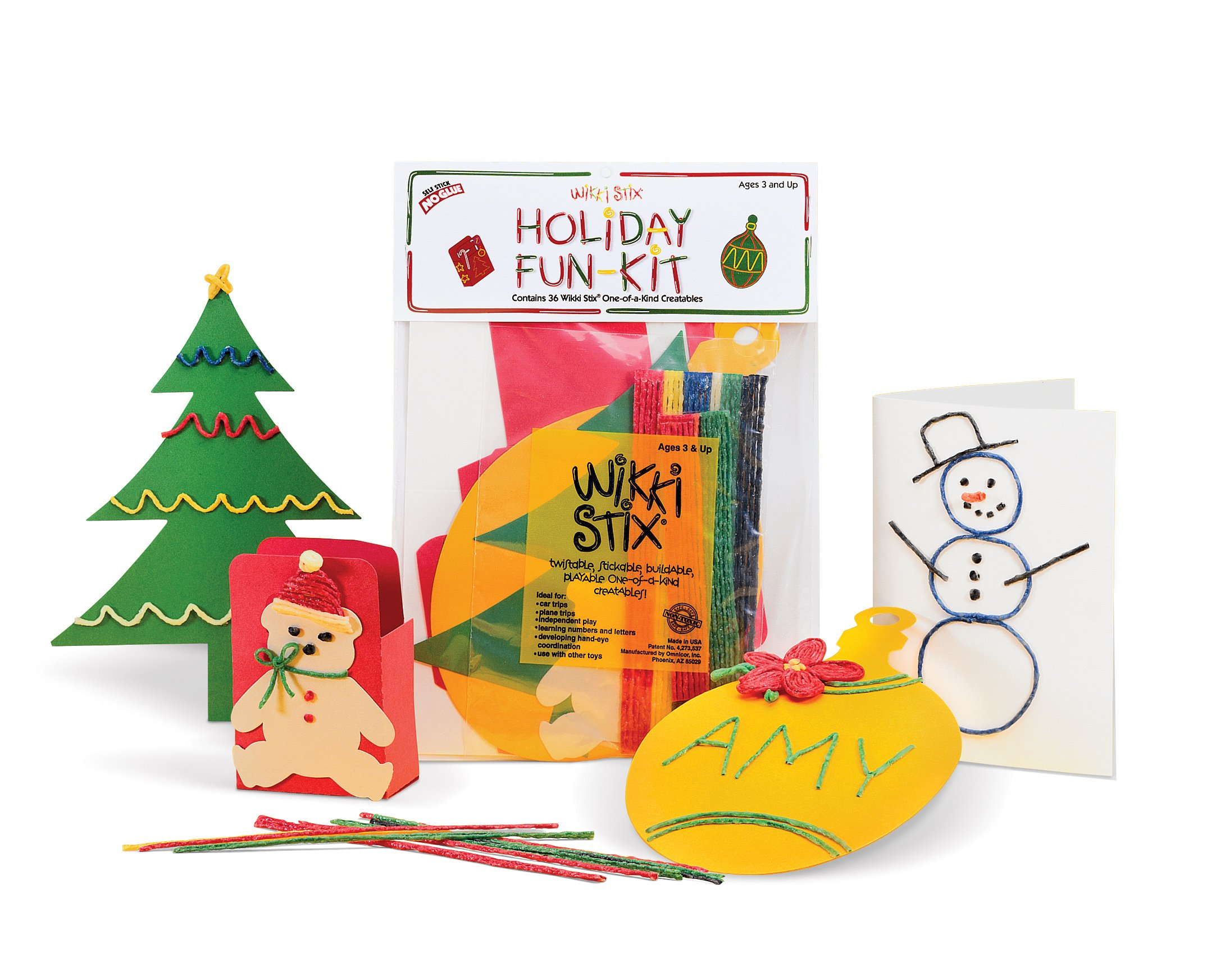 Wikki Stix Holiday Fun Kit