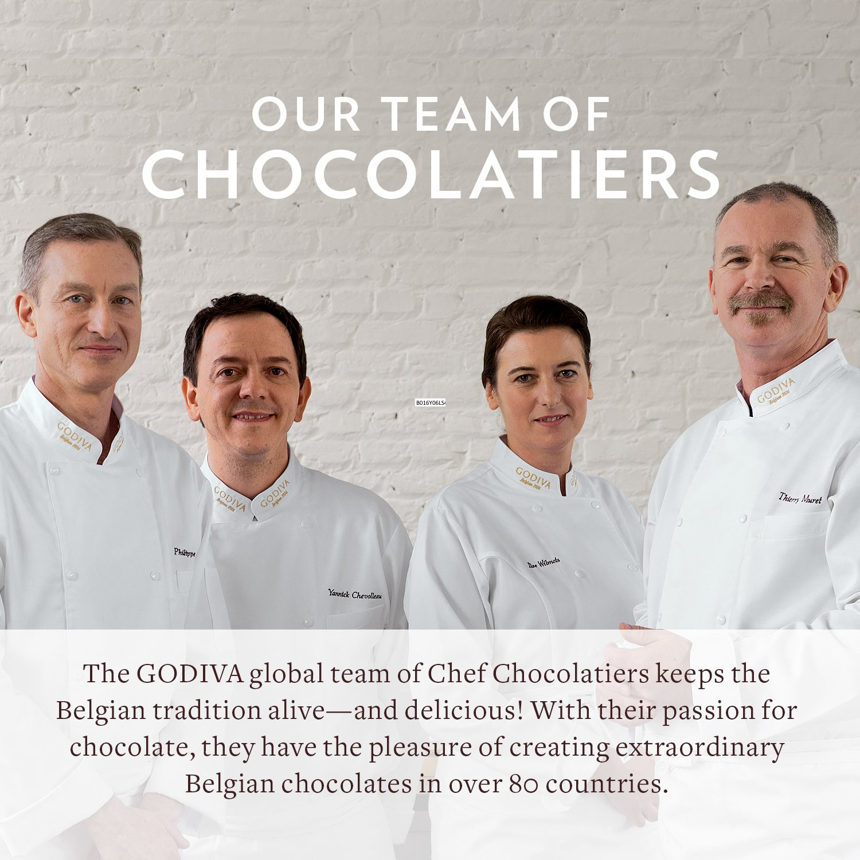 Godiva Chocolatier Gold Ballotin Candy, Happy Birthday, 36 Count by GODIVA Chocolatier (Image #6)