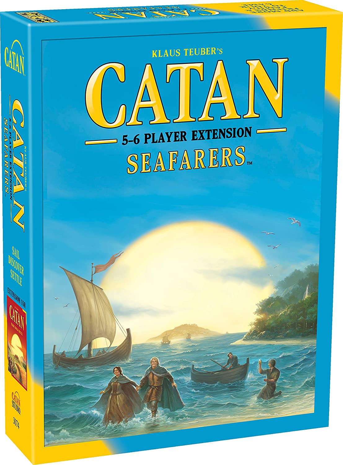 Catan: Seafarers 5-6 player Extension: Amazon.es: Juguetes y juegos