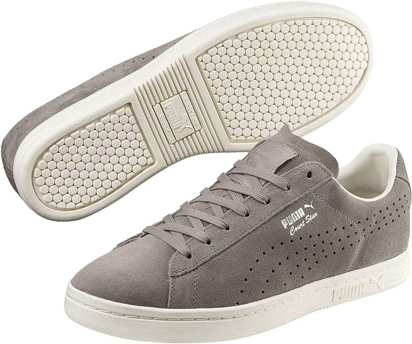 Puma Court Star Sneakers Damen Herren Unisex Grau (Elephant Skin)