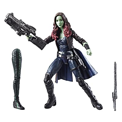 Marvel Guardians of the Galaxy Legends Series Daughters of Thanos: Gamora, 6-inch: Toys & Games