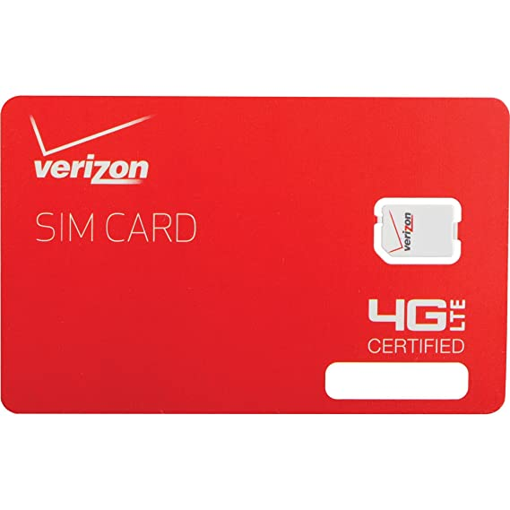Amazon verizon wireless 4g lte nano sim card 4ff non nfc only verizon wireless 4g lte nano sim card 4ff non nfc only compatible with reheart Images